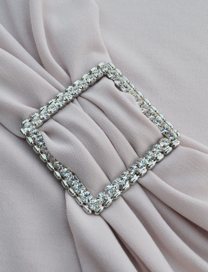 Diamante Square Strap Slider ~ Large 4