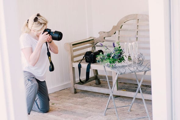 Caroline-setting-up-and-photographing-our-styled-props