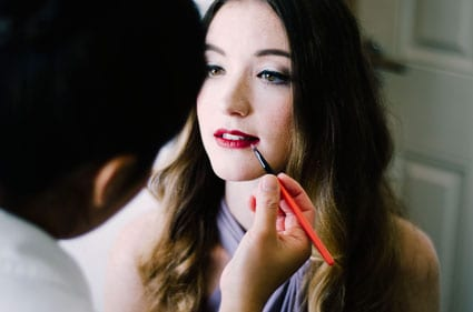MUA-Lanoi-applies-berry-coloured-lipstick-for-our-final-story