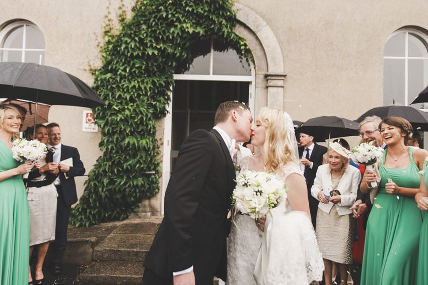 Lynne & Louis' Emerald Green Dublin City Wedding 13