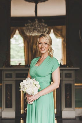 Lynne & Louis' Emerald Green Dublin City Wedding 11