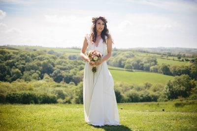 Lizzie customised her Willow dress by adding a lace trim to the neckline area of the dress.