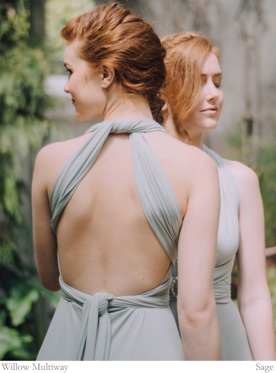Ways to wrap your multiway dress 16