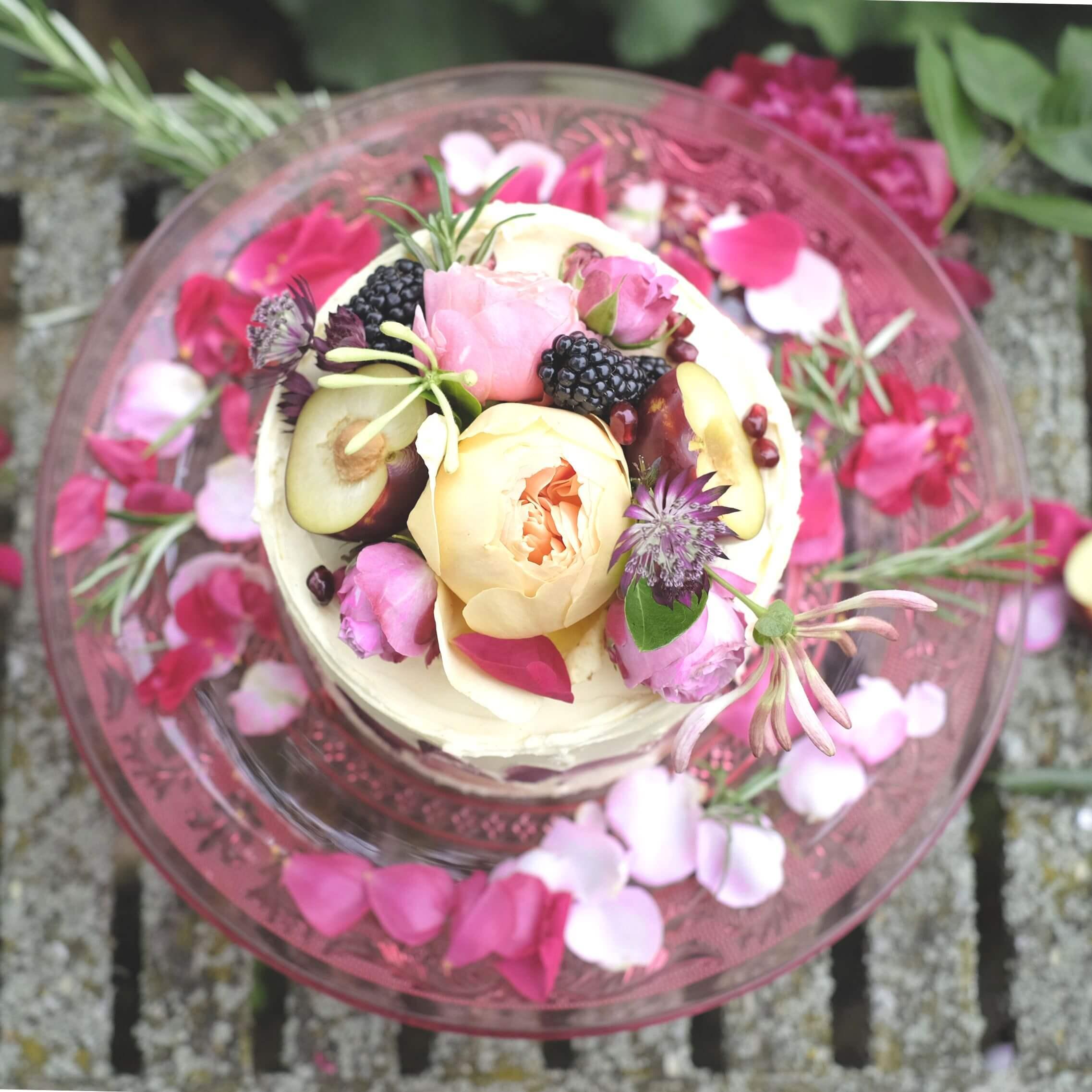 Rose, Claret & Blackberries 2